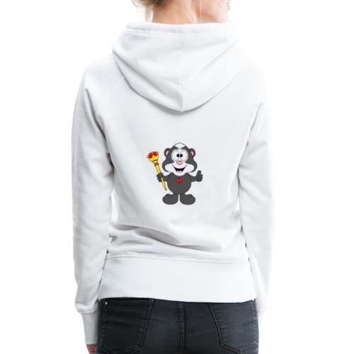 Stinktier - König - Königin - Tier - Kind - Baby - Frauen Premium Hoodie