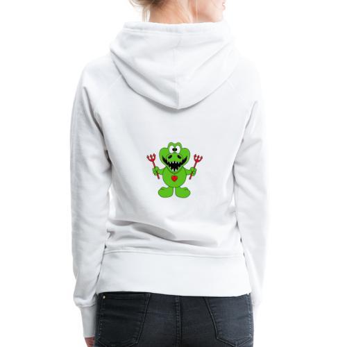 Krokodil - Teufel - Kind - Baby - Tier - Fun - Frauen Premium Hoodie
