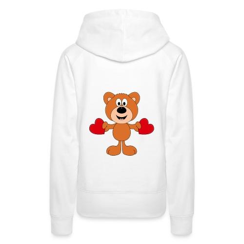 TEDDY - BÄR - LIEBE - LOVE - KIND - BABY - Frauen Premium Hoodie