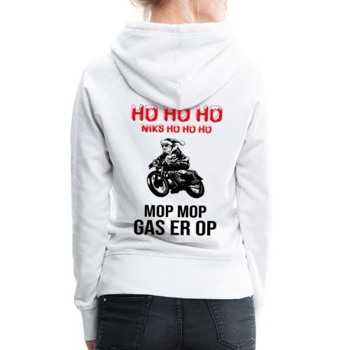 snelle kerstman - Vrouwen Premium hoodie
