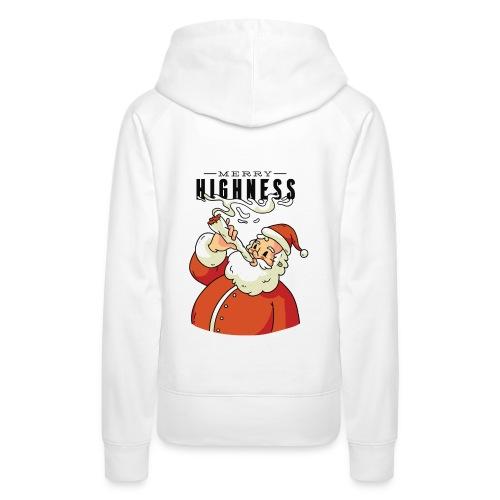 Merry Highness Weihnachtsmann Ugly Xmas - Frauen Premium Hoodie