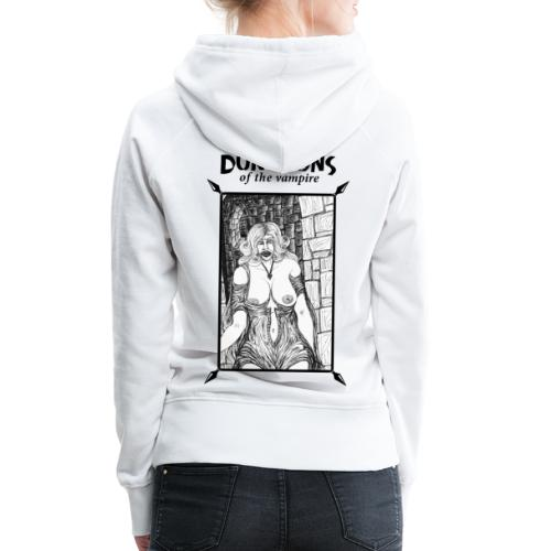 catacombs vampire black version - Women's Premium Hoodie