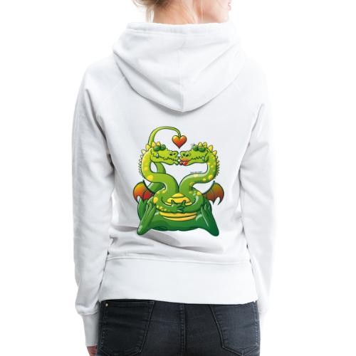 Dragons Madly in Love - Women's Premium Hoodie
