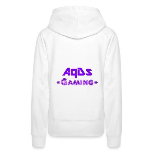 AqDsGaming Purple Hat - Women's Premium Hoodie
