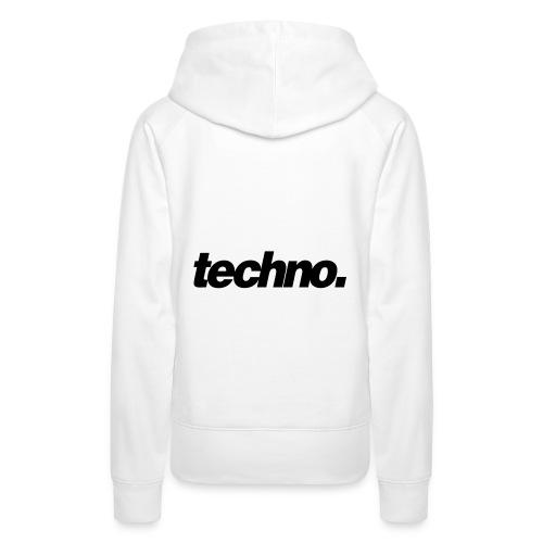 techno. - Frauen Premium Hoodie