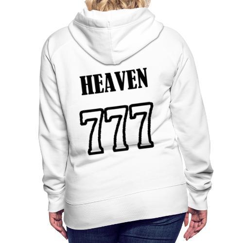heaven - Sweat-shirt à capuche Premium pour femmes