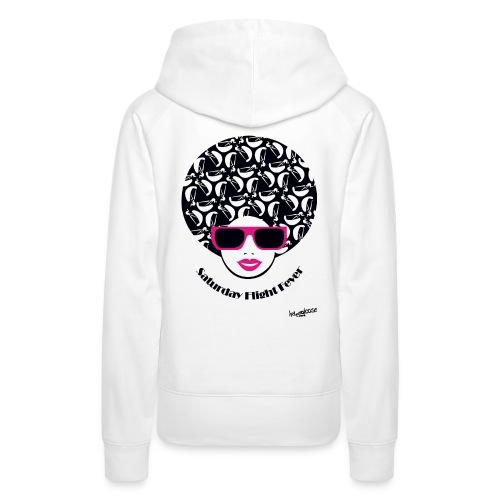 Afro_Madln_rosa - Frauen Premium Hoodie