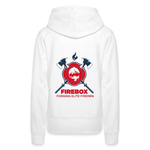 Firebox version fond clair png - Sweat-shirt à capuche Premium pour femmes