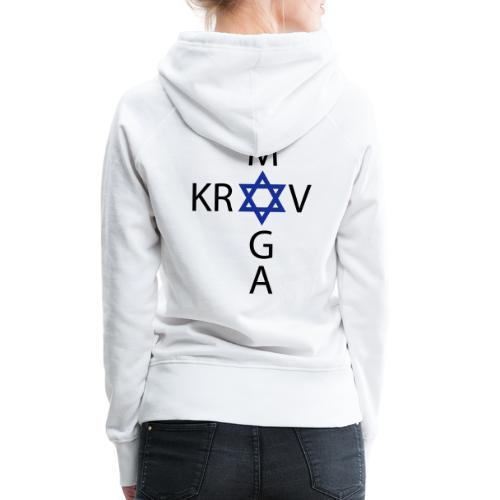 Krav Maga - Israeli Self-Defence - Frauen Premium Hoodie