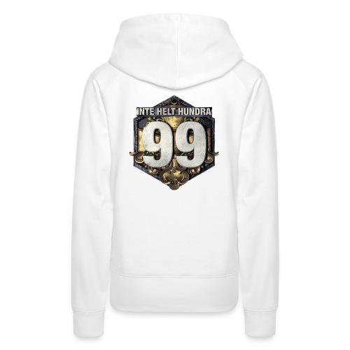 99 logo t shirt png - Premiumluvtröja dam