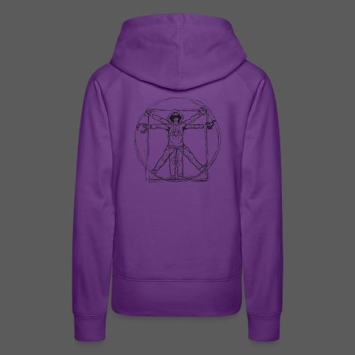 The Vitruvian Gamer - Frauen Premium Hoodie