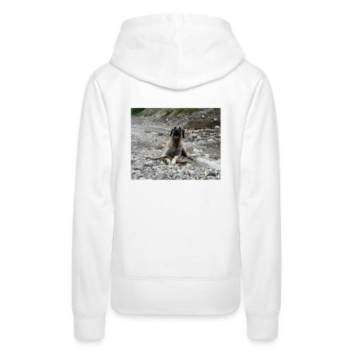 Kangal im Flußbett - Frauen Premium Hoodie