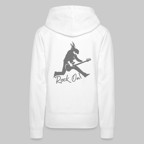Rock On Nr. 2 - Frauen Premium Hoodie