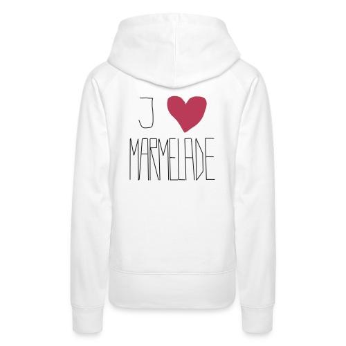 Marmeladenliebe - Frauen Premium Hoodie