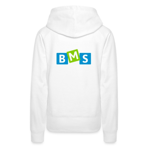 BMS origineel 3kleur outline - Vrouwen Premium hoodie