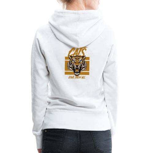 Cats, love them all - Vrouwen Premium hoodie