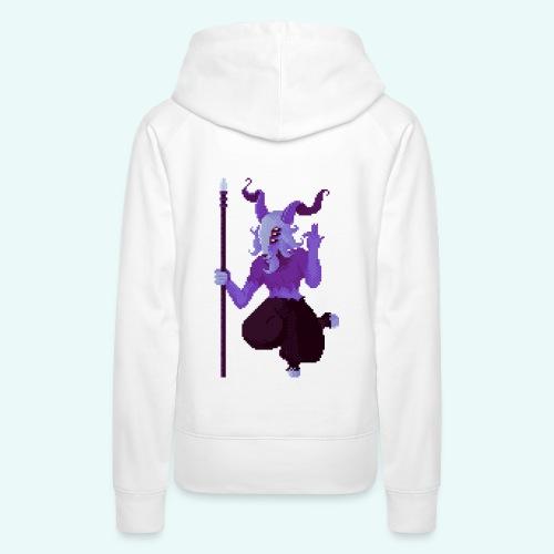 666 - Sweat-shirt à capuche Premium pour femmes