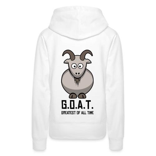 goat eggs - Women's Premium Hoodie