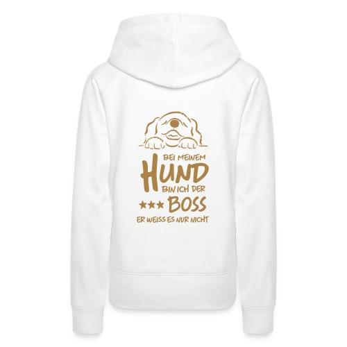 boss hund - Frauen Premium Hoodie