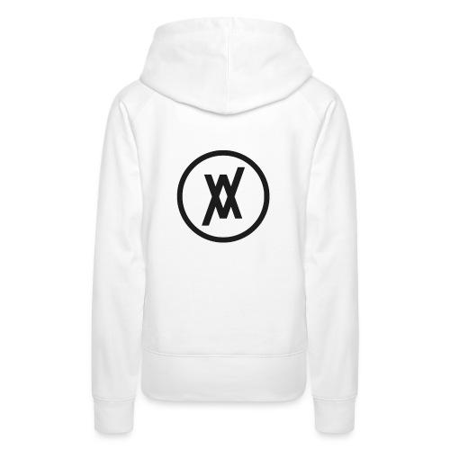 Sigle Noir (Loadjaxx) - Sweat-shirt à capuche Premium pour femmes