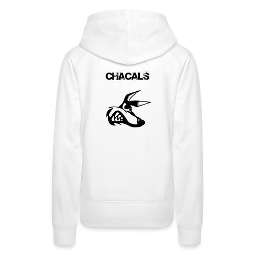 chacals nom png - Sweat-shirt à capuche Premium pour femmes