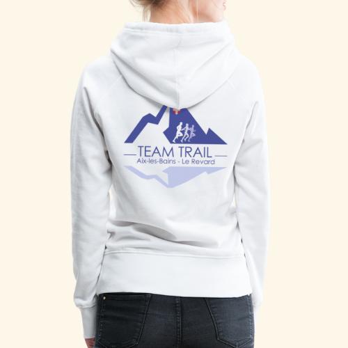 Team Trail Aix les Bains - Sweat-shirt à capuche Premium pour femmes