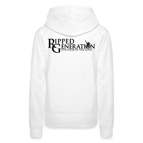 Ripped Generation Tekstilogo - Naisten premium-huppari