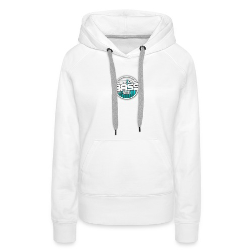 Plain T-Shirt with Logo - Women's Premium Hoodie