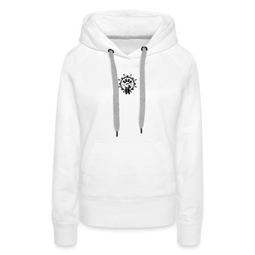 935 logo zombies - Vrouwen Premium hoodie