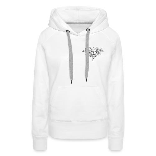 Floral Bloom - Women's Premium Hoodie