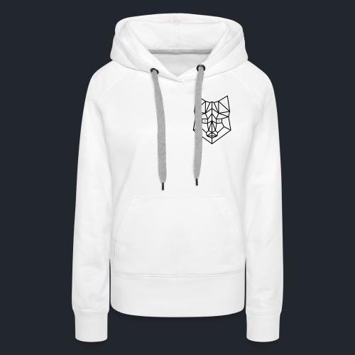 vos simpel lijn - Vrouwen Premium hoodie