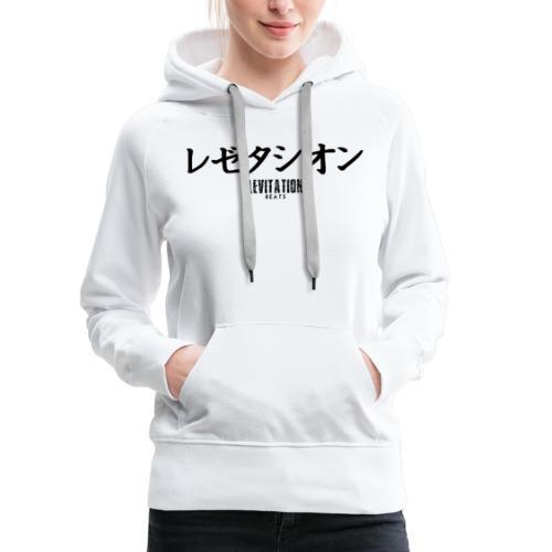 Japan x Levitation - Sweat-shirt à capuche Premium pour femmes