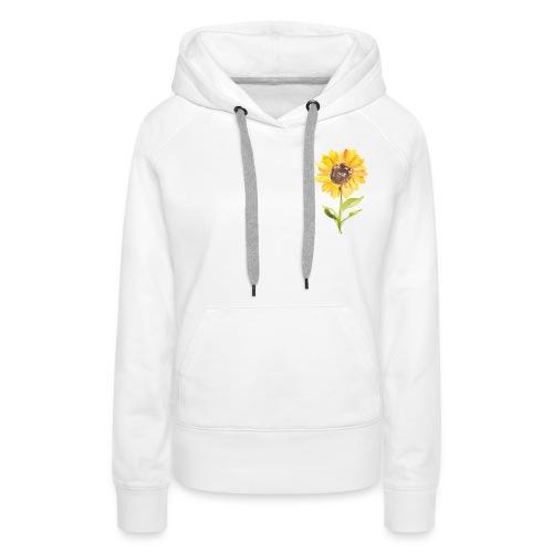Sonnenblume Sunflower - Frauen Premium Hoodie