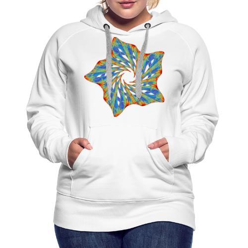 Colorful starfish with thorns 9816j - Women's Premium Hoodie