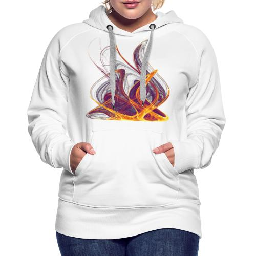 Log fire Campfire Flame flame fire 12435i - Women's Premium Hoodie