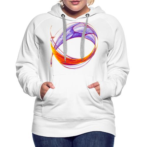 Watercolor art graphic painting picture chaos 13813bry - Women's Premium Hoodie