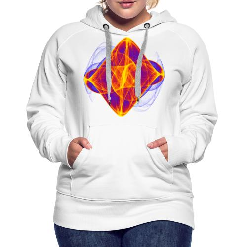 Watercolor art graphic painting picture chaos 6769bry - Women's Premium Hoodie