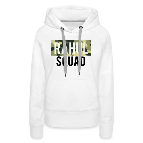 RahulSquad Official Camo T-Shirt - Women's Premium Hoodie