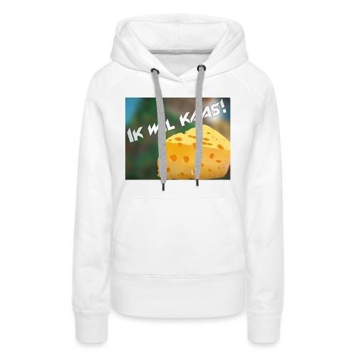 DeGeldigeKaas Merchandise - Vrouwen Premium hoodie