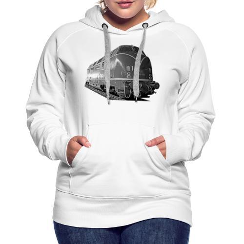 Diesel Lokomotive V 200 Deutsche Bundesbahn - Frauen Premium Hoodie