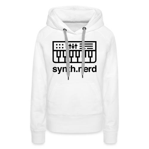 Synth Nerd - Women's Premium Hoodie