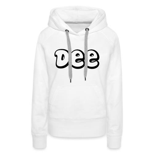 Dee Teddy Bear! - Vrouwen Premium hoodie