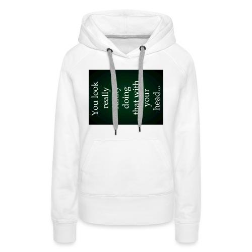 funny - Vrouwen Premium hoodie