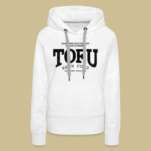 Tofu (black oldstyle) - Frauen Premium Hoodie