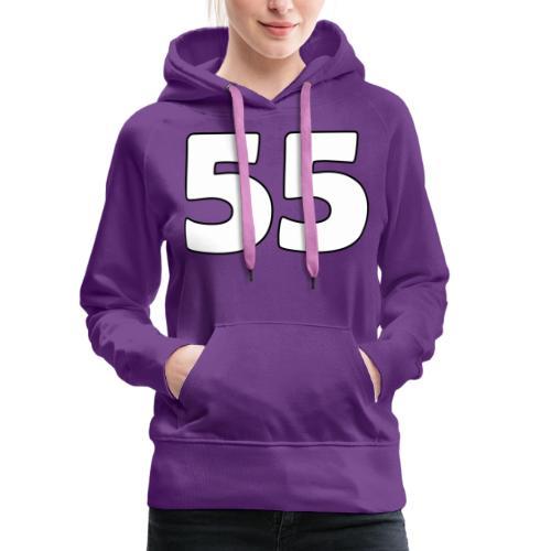 55 - Naisten premium-huppari