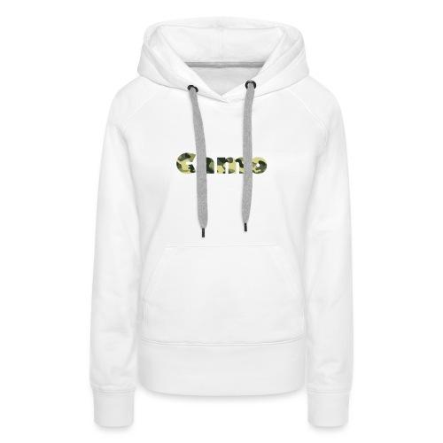 Camo Designs - Vrouwen Premium hoodie