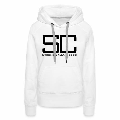 concept SC zwart png - Vrouwen Premium hoodie