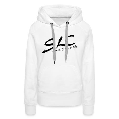 SLC is Love, SLC is Life - Vrouwen Premium hoodie