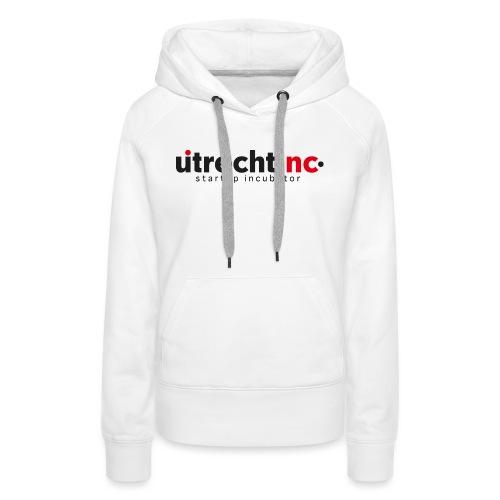 UtrechtInc | Startup Incubator 2021 - Vrouwen Premium hoodie