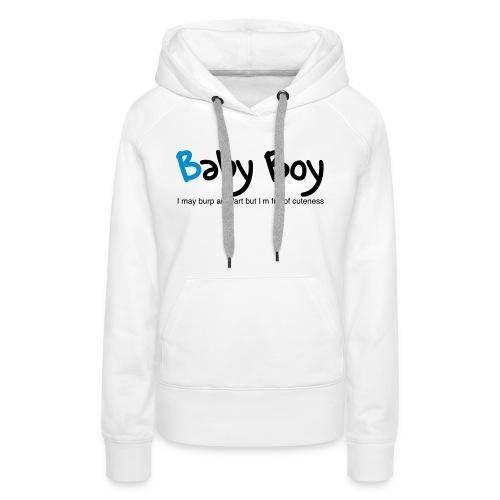 Baby Boy - Women's Premium Hoodie